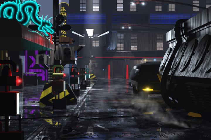 Blade Runner Street